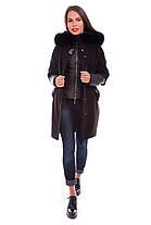 Женское зимнее кашемировое пальто + куртка арт. Твикс зима 4313, фото 2
