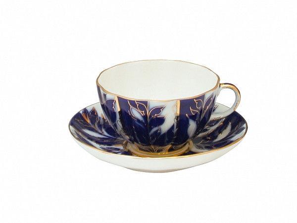 Чашка чайная с блюдцем И.Ф.З. Тюльпан Зимний вечер 250 мл 10012