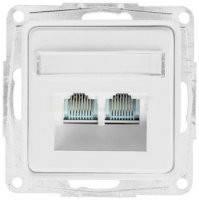 Корпус коммуникационный 2-й наклонный AMP Оптима 12018102 белый