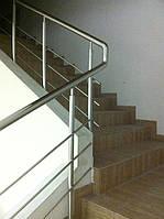 Ограждение для лестниц из нержавейки Харьков