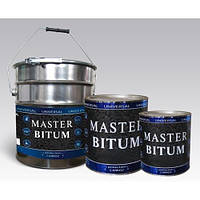 Мастика битумная (антикоррозионная) Master Bitum (банка 0,9кг) 4802931013