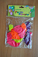 Воздушные шарики маленькие 10 штук