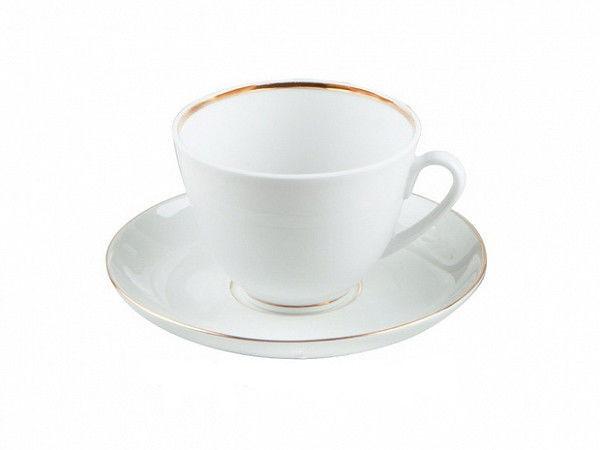 Чашка чайная с блюдцем И.Ф.З. Весенняя Белоснежка 230 мл 13906