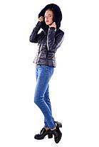 Женское зимнее кашемировое пальто-трансформер 2 в 1 арт. Твикс зима 4314, фото 2
