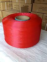 Нить полипропиленовая мультифиламентная Красная 900 Den