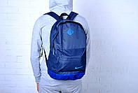 Рюкзак мужской/женский повседневный\городской найк (Nike), синий реплика