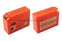 "Аккумулятор на мототехнику   12V 2,3А   гелевый, Suzuki   ""OUTDO""   (113x39x89, оранжевый, mod:YT4B-5)"