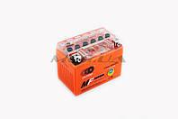 "Аккумулятор на мототехнику   12V 4А   гелевый   ""OUTDO""   (114x71x88, оранжевый)   (#GML)"