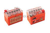 """Аккумулятор на мототехнику   12V 4А   гелевый   """"OUTDO""""   (114x71x88, оранжевый, mod:YTX4L-BS)"""