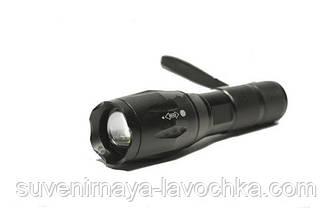 Тактический фонарь CREE C-37, фонарик карманный, фонарик качественный