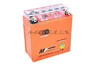 "Аккумулятор на мототехнику   12V 5А   гелевый (высокий)   ""OUTDO""   (119x60x128, оранжевый)   (#GML)"