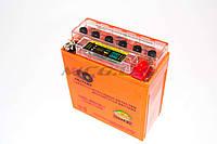 "Аккумулятор на мототехнику   12V 5А   гелевый (высокий)   ""OUTDO""   (120x60x130, с индикатором заряда, mod:12N5-3B)   (#RBR)"