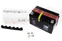 "Аккумулятор на мототехнику   12V 6А   заливной   ""OUTDO""   (150x87x94, mod:YTX7A-BS)   (#RBR)"