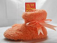 Детские домашние сапожки материал верх набивная турецкая махра плюс прочный кожзам