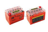 """Аккумулятор на мототехнику   12V 9А   гелевый   """"OUTDO""""    (152x88x106, оранжевый, с индикатором заряда)"""