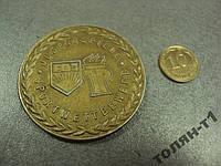 Медаль настольная гдр пионерия комсомол