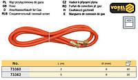 Шланг газовий паяльник/балон l= 5 м VOREL-73362