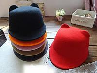 Шляпки жокейки с ушками