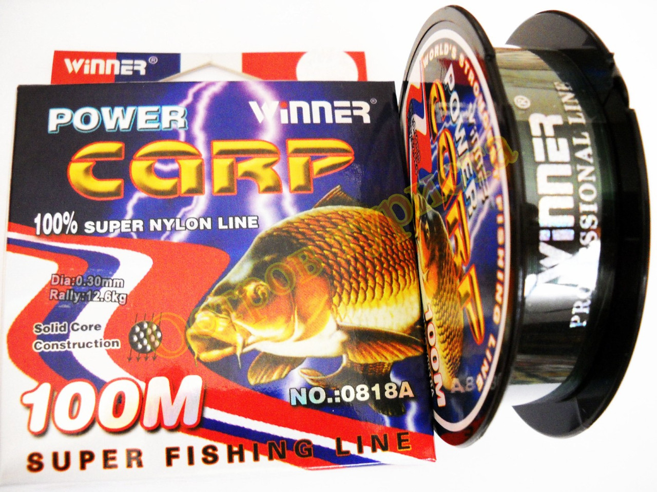 Леска WINNER Power Carp 100 м 0,30 мм