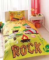 Постельное белье для детей TAC Sponge Bob Summer (односпальное)