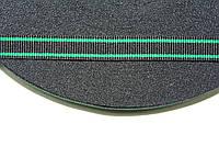 ТЖ 10мм репс (50м) черный+зеленый (трава), фото 1