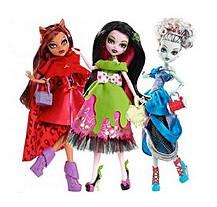 Куклы Монстер Хай Страшные сказки - Monster High Scarily Ever After