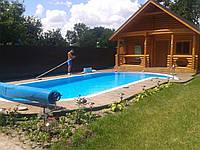 Чаша бассейна из полипропилена 10х4м глубиной 1,6м