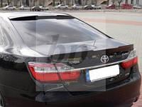 Lip Spoiler (лип спойлер багажника - сабля) агрессия Toyota Camry xv55 (Тойота Камри 55 кузов 2014г+)