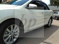 Молдинг боковых дверей с хром полосой Toyota Camry xv55 (Тойота Камри 55 кузов 2014г+)