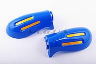 """Защита рук на руль на мототехнику   """"XJB""""   (mod:2, GLOVES, синие)"""