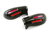 "Защита рук на руль на мототехнику   ""XJB""   (mod:2, GLOVES, черные)"