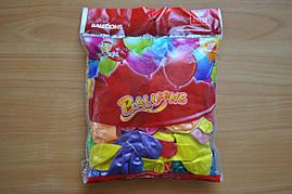 Воздушные шарики б Q12 12дюймов 28-30 см 50 штук