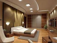 Спальня в стиле минимализм № 59