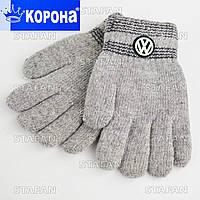 Двухслойные перчатки для мальчика E5207S-1