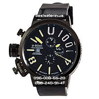 Часы U-boat Italo Fontana 4566 black/yellow. Replica, фото 1