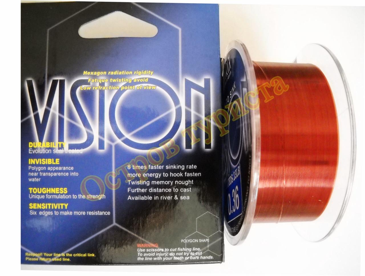 Леска Vision 0.36 мм 100 метров