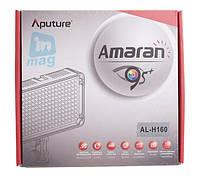 Накамерне світлодіодний світло Aputure Amaran AL-H160, 5500K (3200K/фільтр)