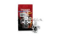 "Лампа H4 на авто   12V 35W/35W   (белая, двухколбовая)   ""TAKAWA""   (блистер)"
