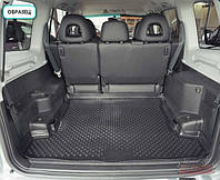 Коврик в багажник Мазда 6 седан с 2009➠ ✓ цвет: черный