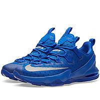 Оригинальные  кроссовки Nike Lebron XIII Low Game Royal & Metallic Silvrer