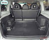 Коврик в багажник для Bmw X5 (E53) с 1999- , цвет: черный