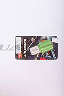 """Лампа S25 (двухконтактная, диодная)   на мототехнику 12V 5W   (стоп, габарит) (зеленая, mod:JC-716)   """"JCAA"""""""