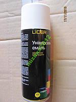 Эмаль, краска универсальная LIDER белая матовая
