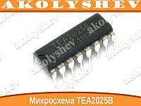 Микросхема TEA2025B DIP16