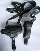 Кобура оперативная, двухсторонняя для пистолета Форт-17 + чехол под магазин