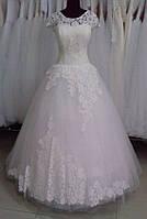 """Свадебное платье """"Цветок"""""""