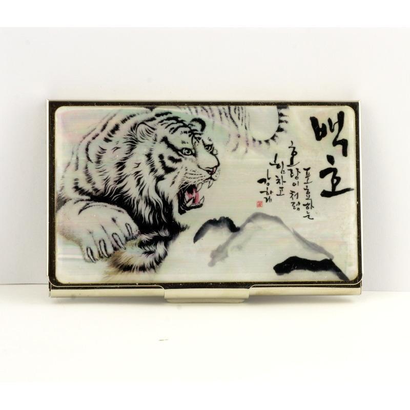 Визитница «Прыжок тигра»