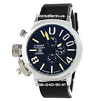 Часы U-boat Italo Fontana 4567 Silver/Black/Yellow