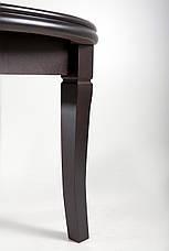 Стол-трансформер 310 обеденный с круглой столешницей Лас-Вегас ТМ Биформер,цвет  орех темный, фото 3