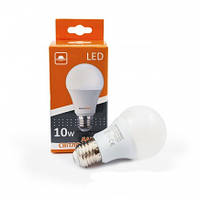 Лампа светодиодная Евросвет А-10-4200-27  10вт 170-240V 38857